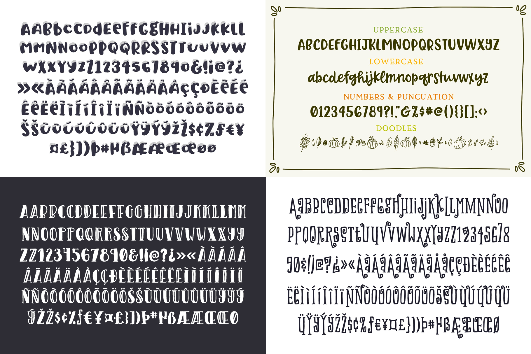 Holiday Font Pack example image 13