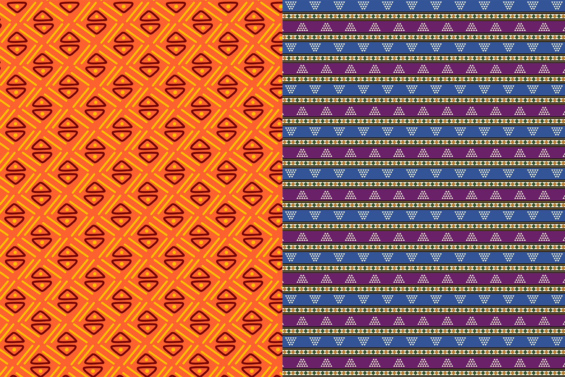 10 African Ethnic Patterns example image 7