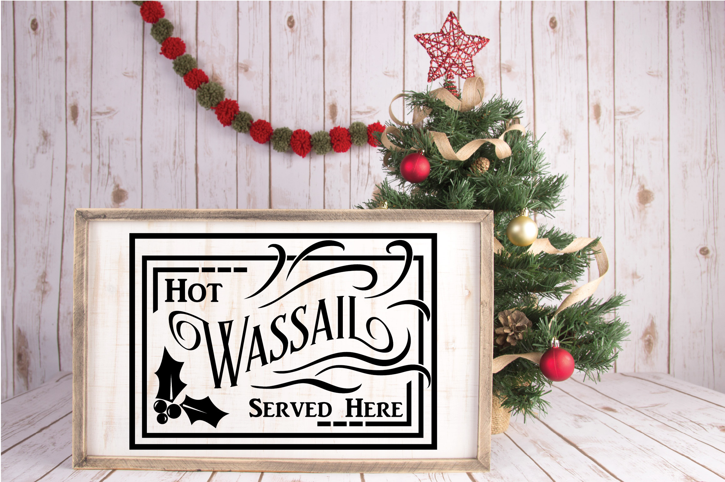 Christmas SVG Cut File - Hot Wassail SVG DXF PNG EPS JPG example image 5