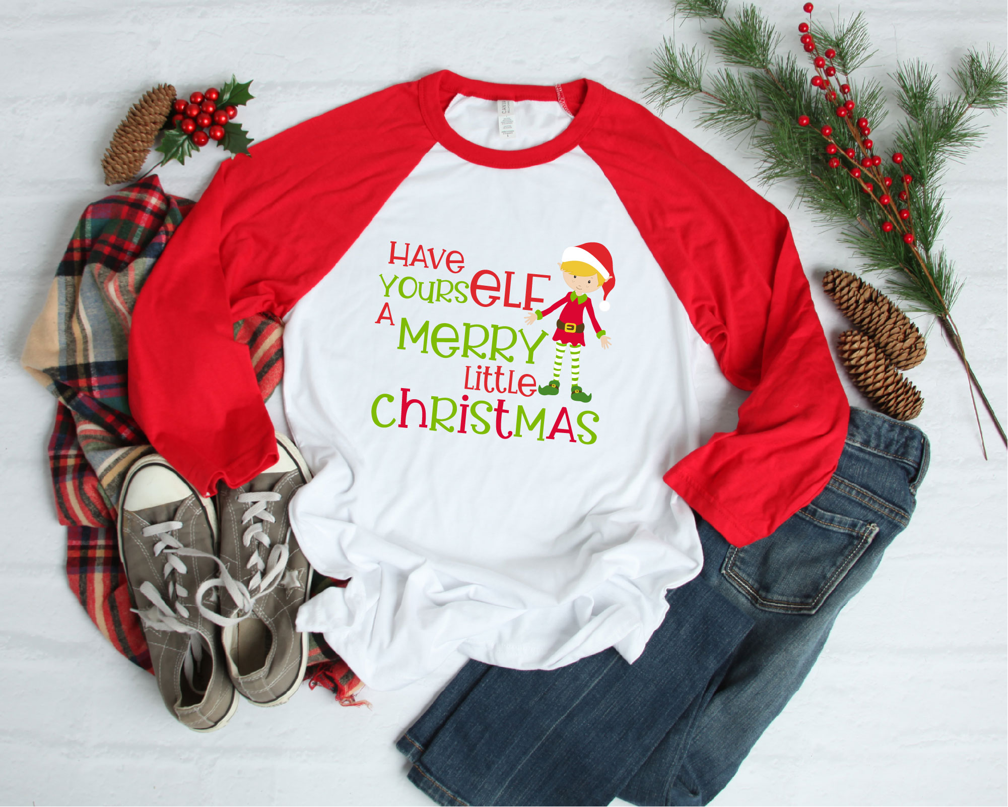 Have Yourself A Merry Little Christmas, SVG Christmas SVG example image 2
