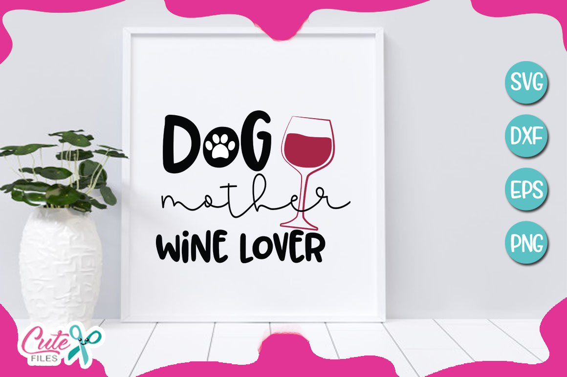 Mom of the dog bundle SVG cut file example image 2