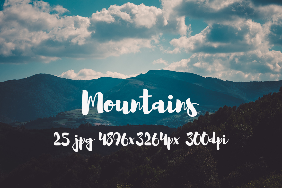Mountains Pack example image 3