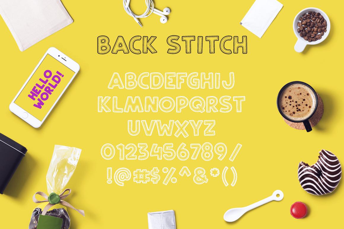 Back Stitch example image 3