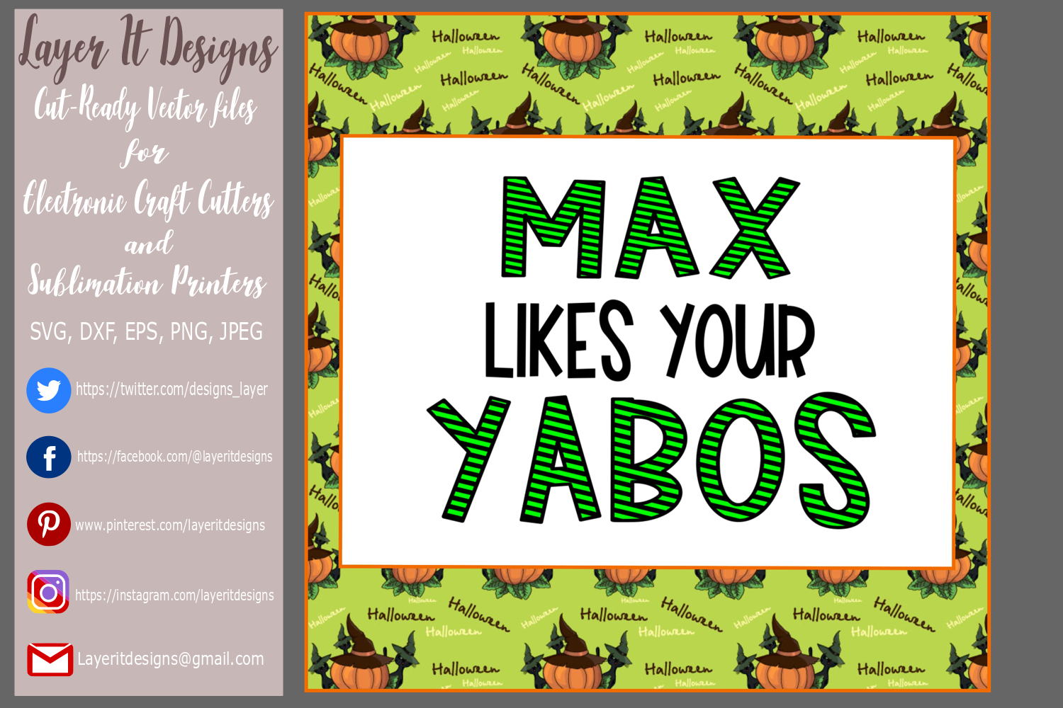 Max like your Yabos Design File example image 3