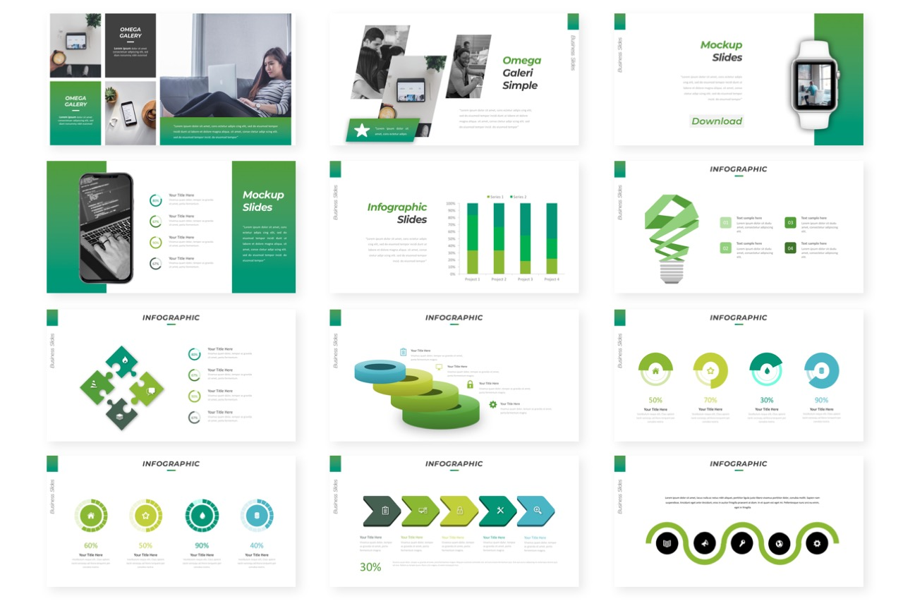Omega Business Powerpoint example image 3