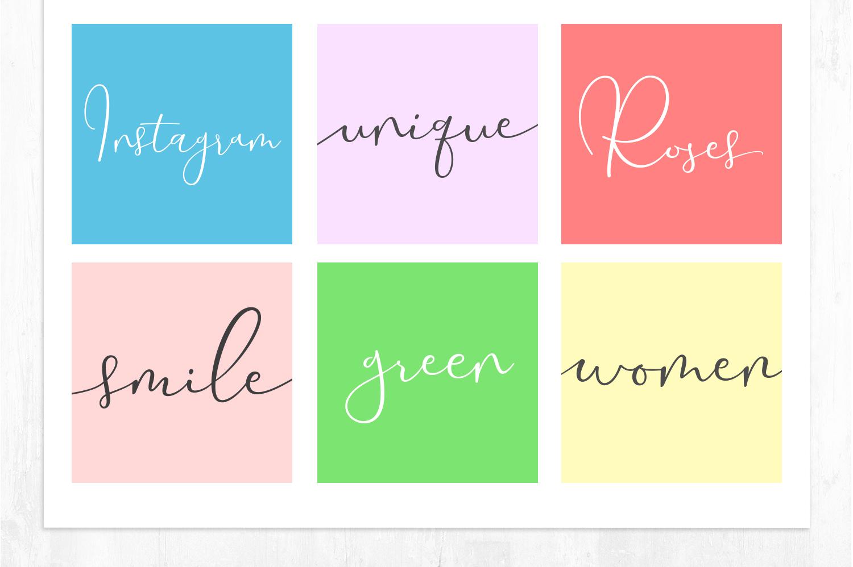 Yolan Unique Font example image 5