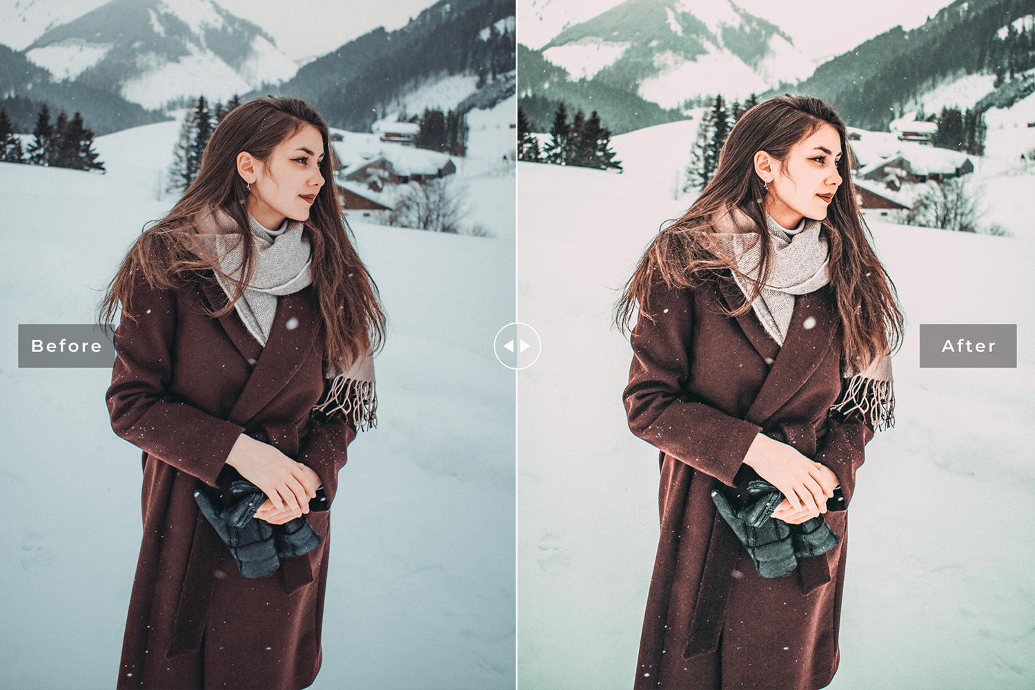 Let It Snow Mobile & Desktop Lightroom Presets example image 5