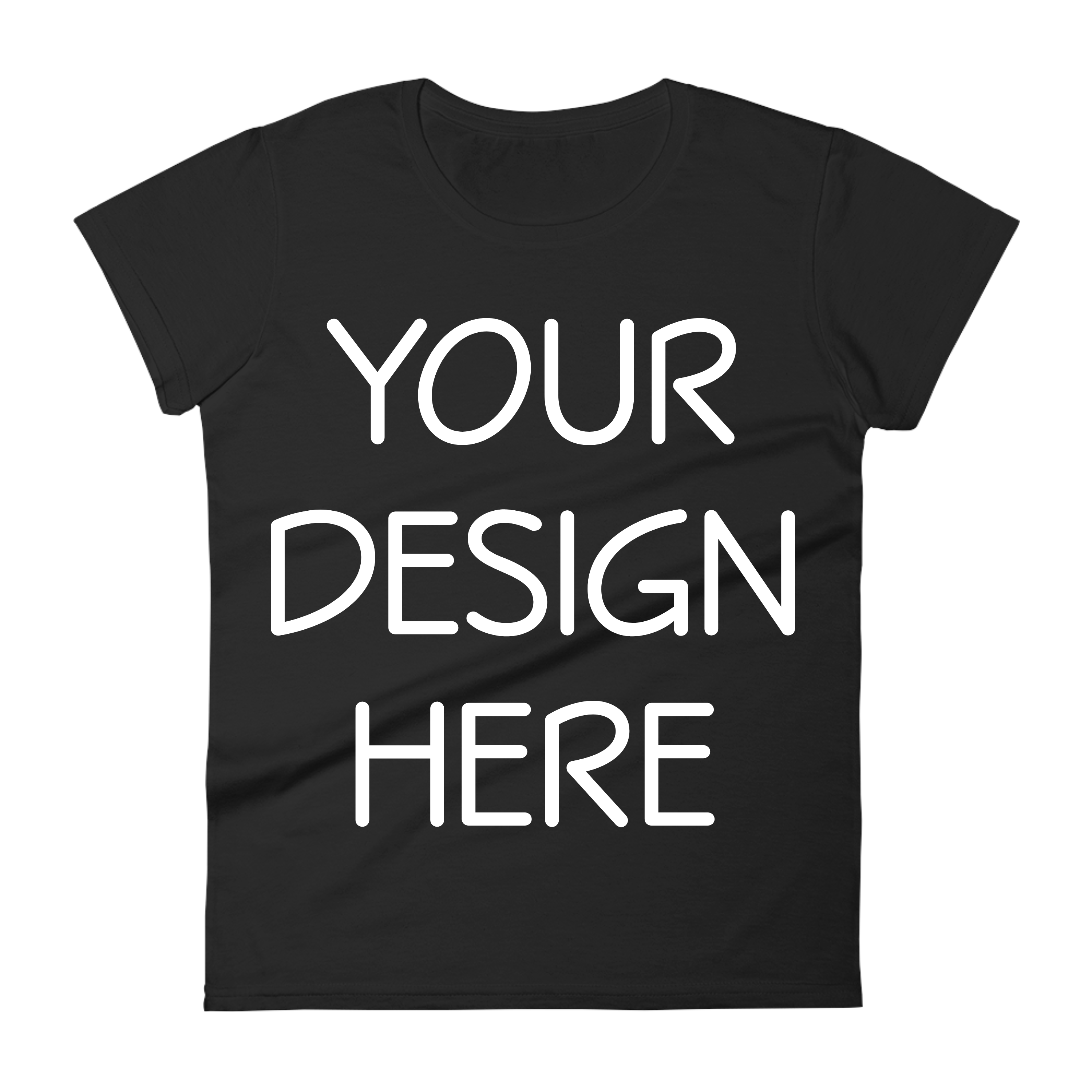 Anvil 880 Ladies Fit T-Shirt Mockups - 17 | PNG|3000x3000px example image 2