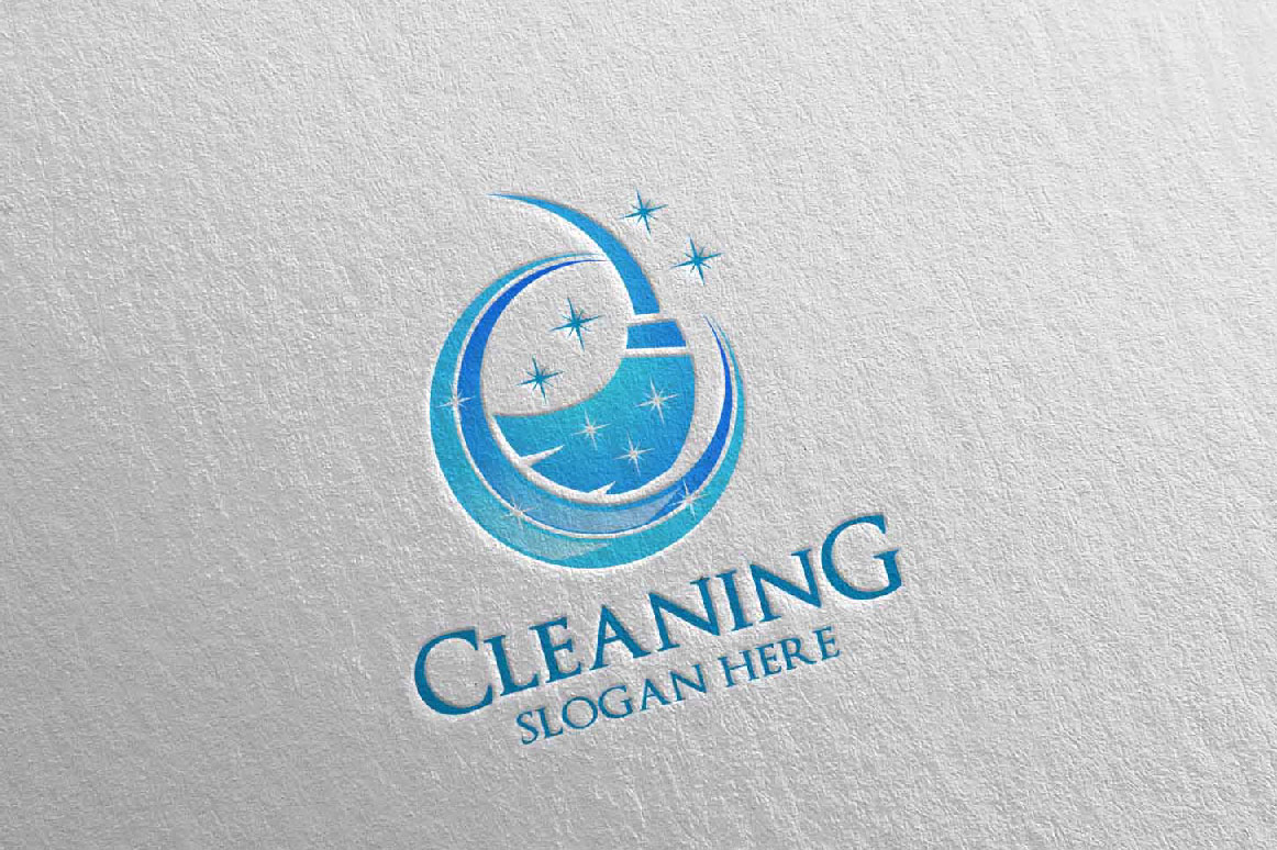 Cleaning Service Vector Logo example image 5