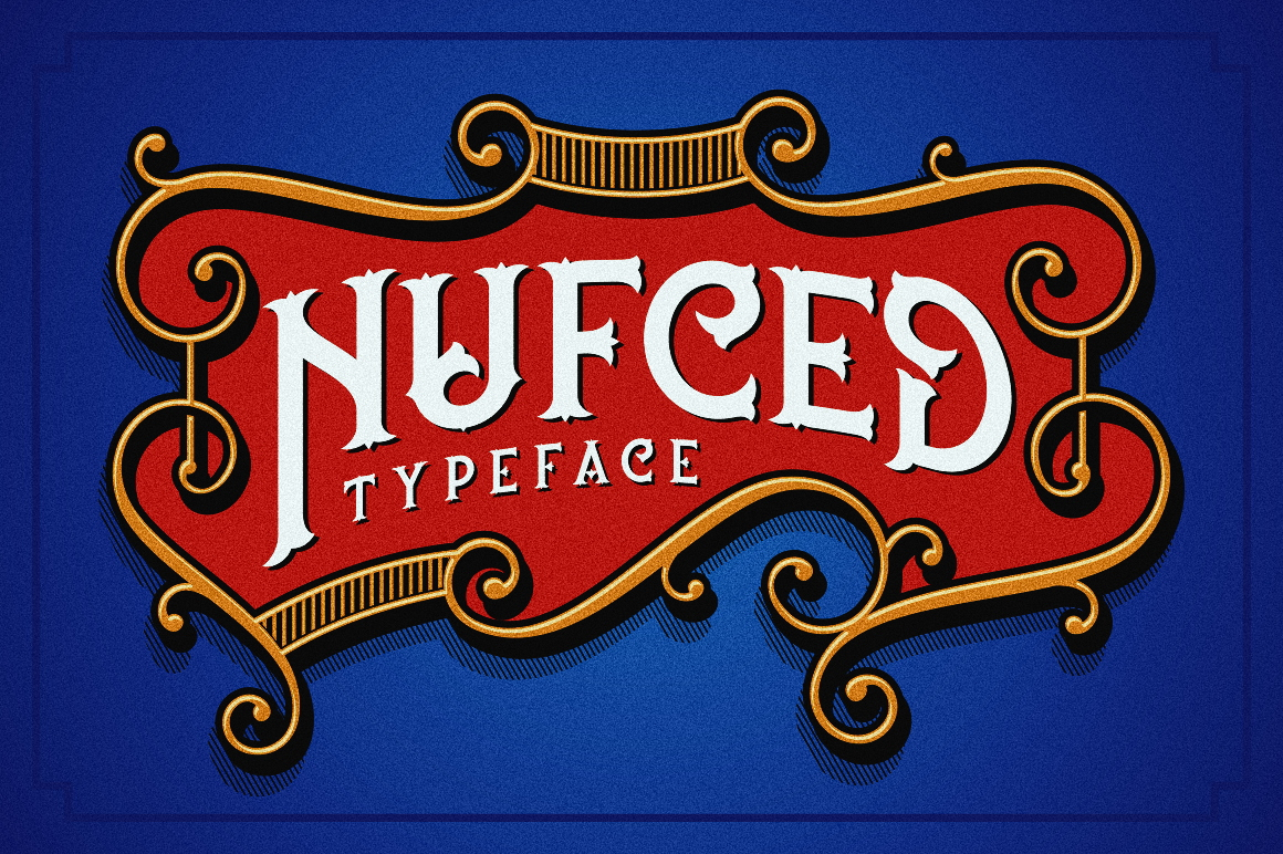 Nufced Typeface example image 3