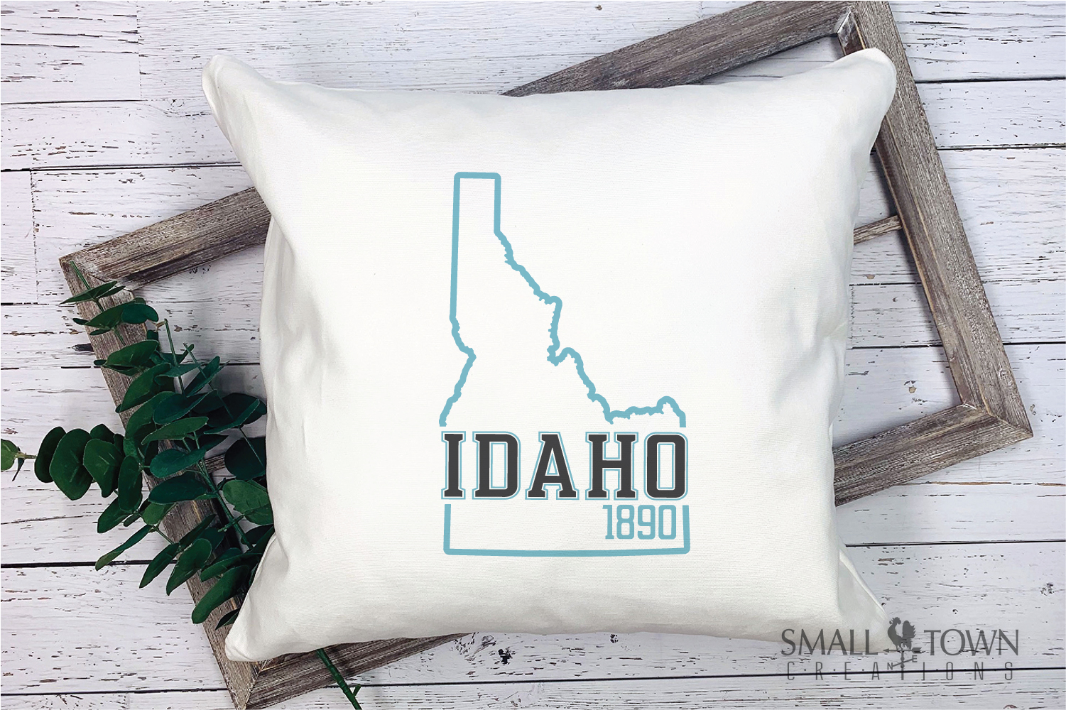 Idaho, Famous Potatoes- slogan, Logo, PRINT, CUT & DESIGN example image 5