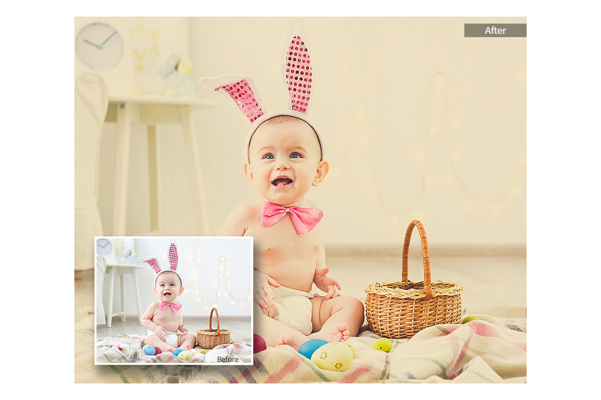 Baby Lightroom Mobile Presets Adroid and Iphone/Ipad example image 4