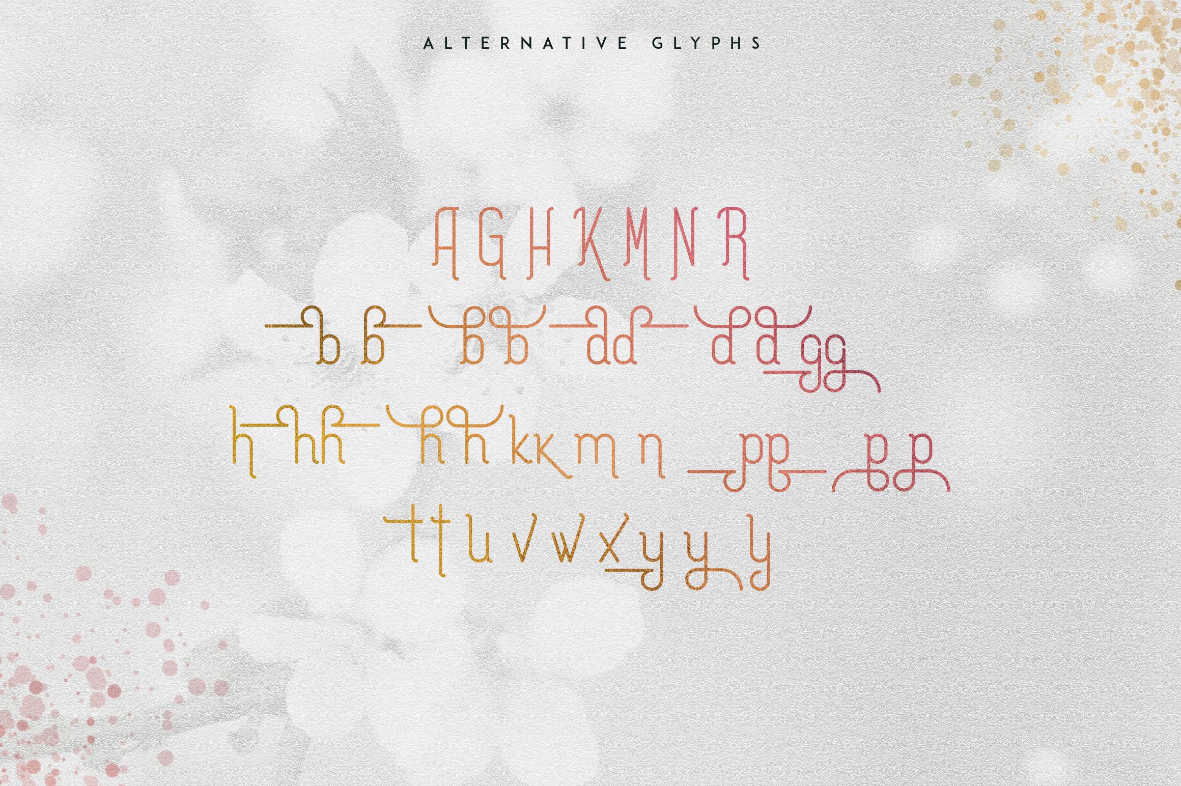 [Spring Vibes] Splendor Font example image 11