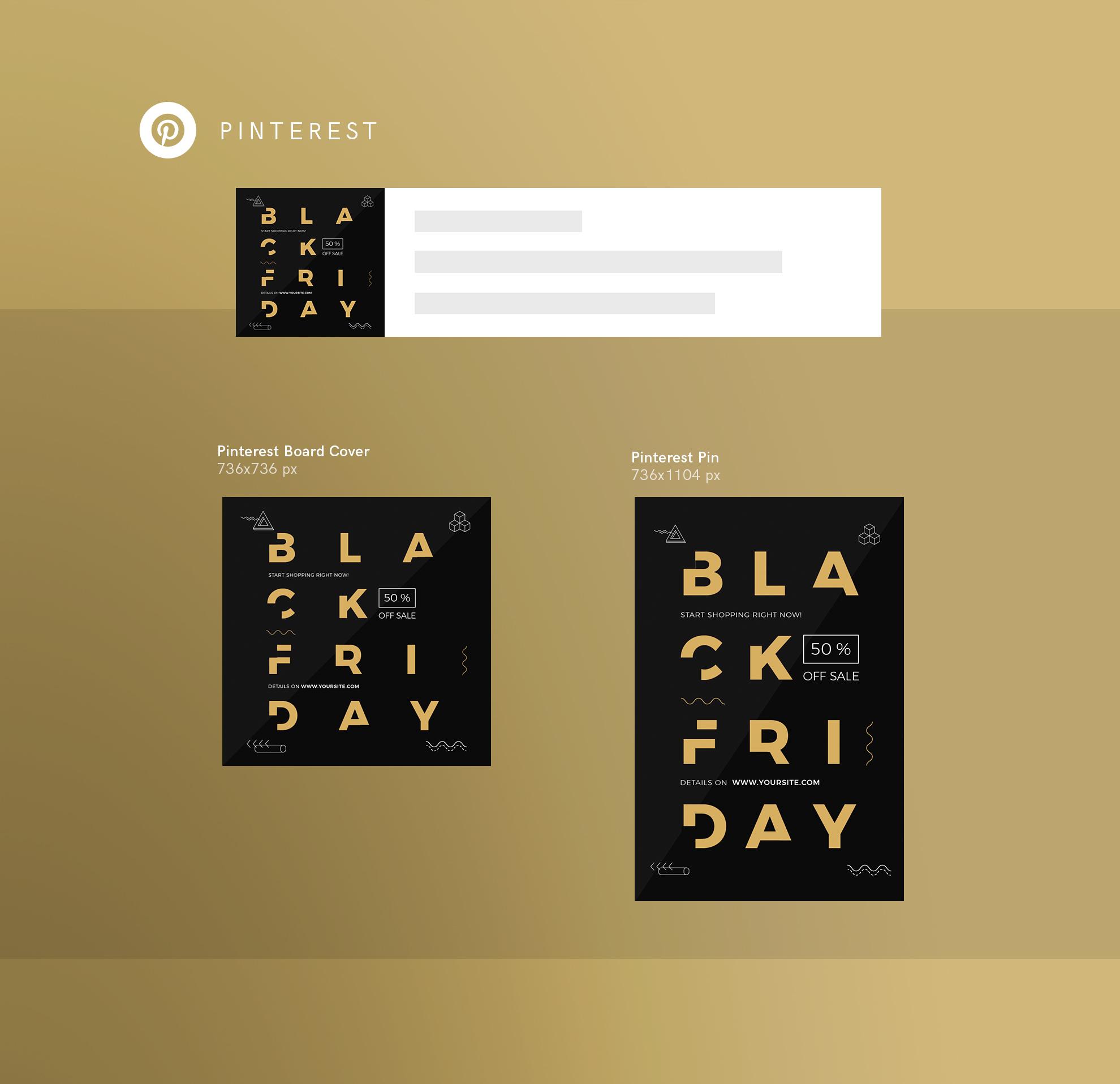 Black Friday Sale Design Templates Bundle example image 11