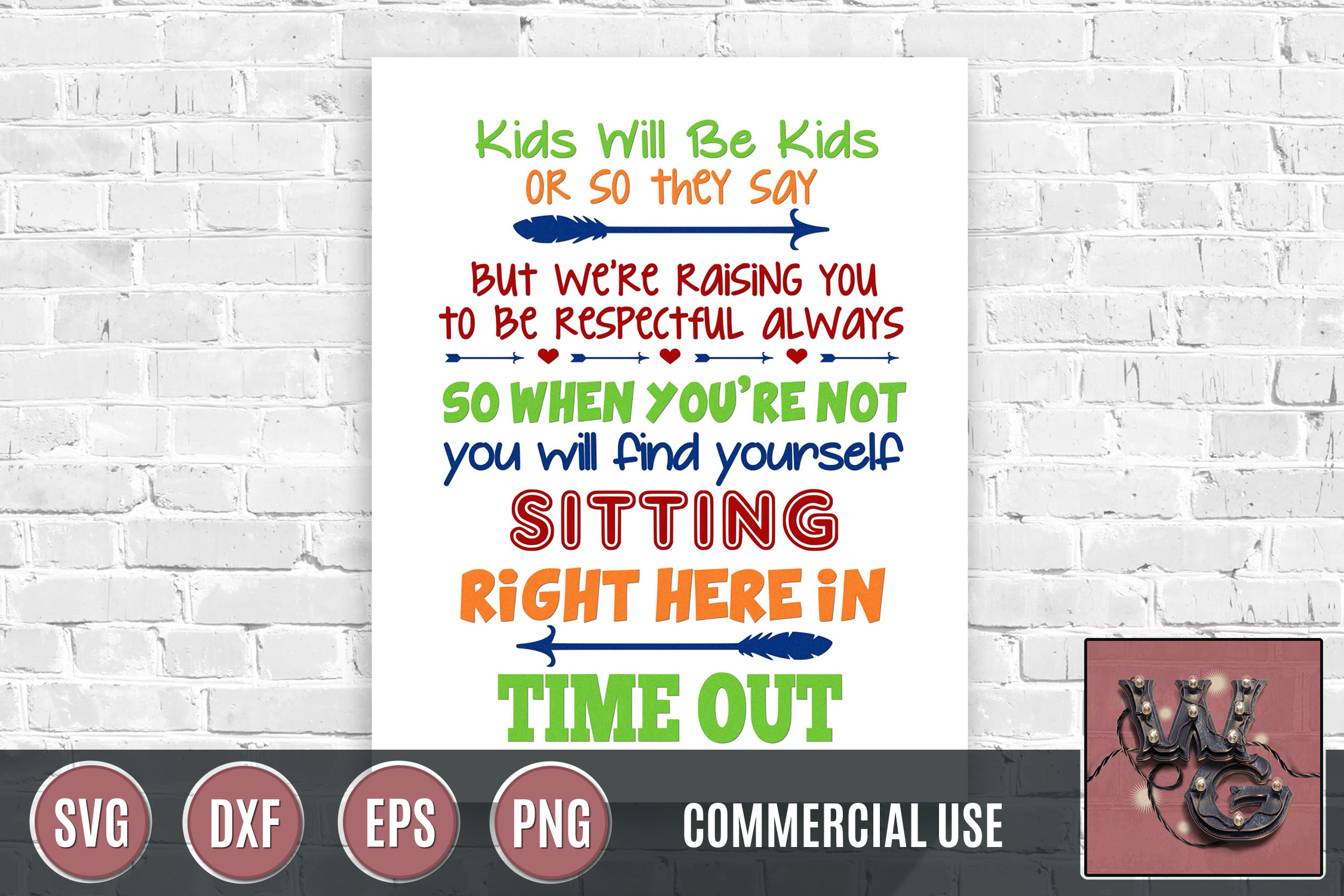 Unisex Timeout Chair SVG DXF PNG EPS Comm example image 1