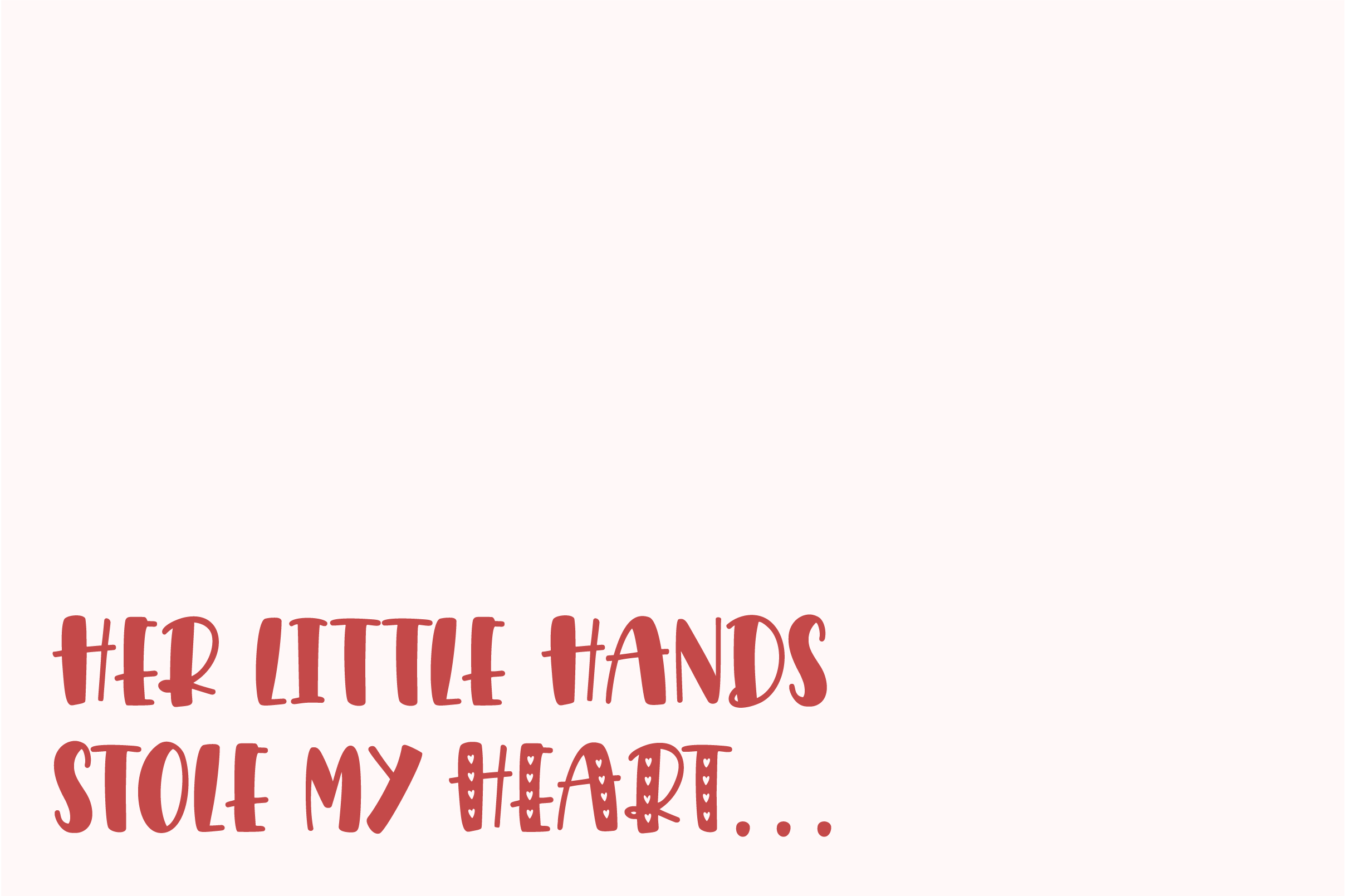 Giggle Hearts, An adorable valentine day font example image 4