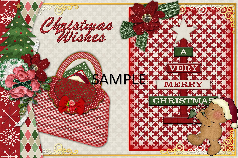 Children's Christmas Journal Kit with Free Ephemera example image 2