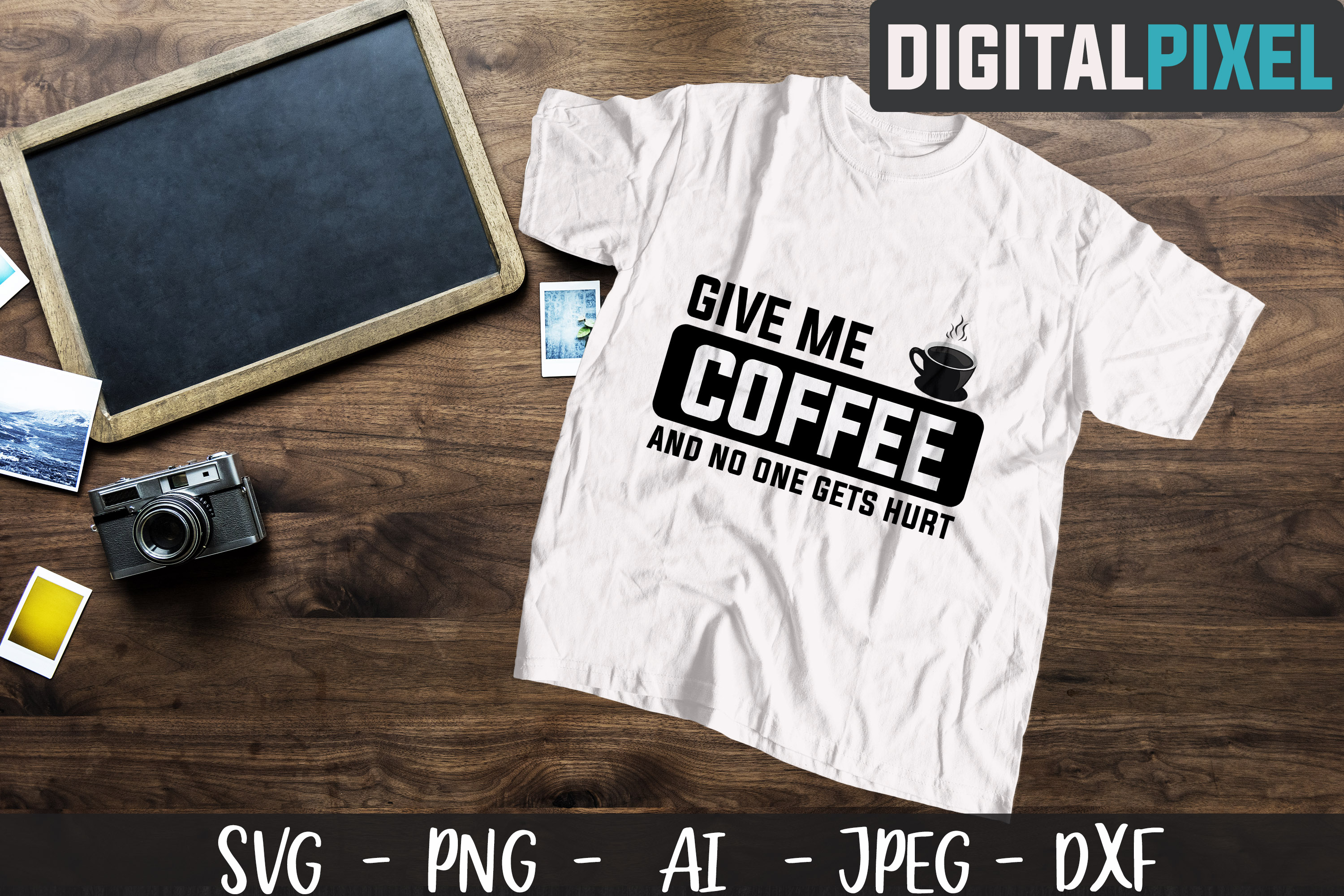 Coffee Bundle SVG PNG JPEG DXF Circut Cut Coffee Crafters example image 8