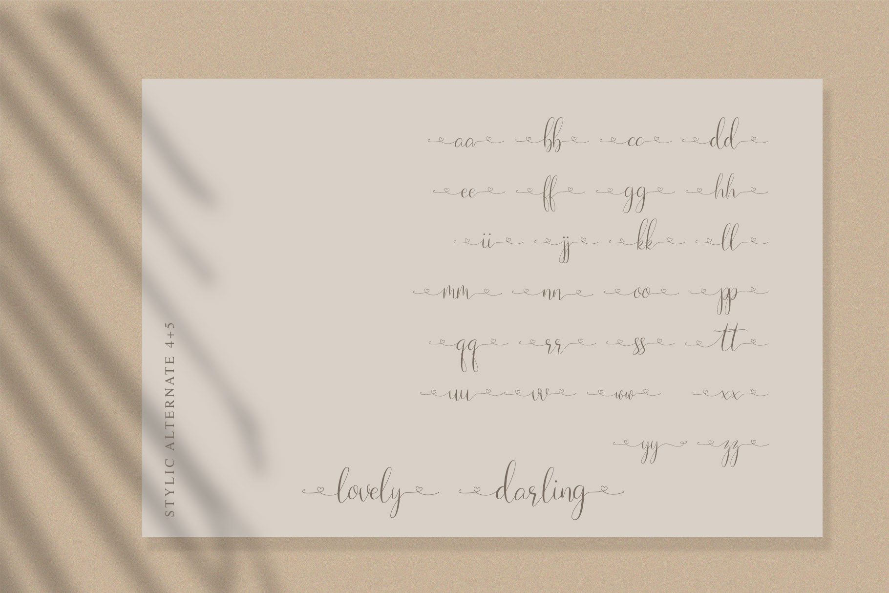 Naibacarte - Lovely Font example image 11