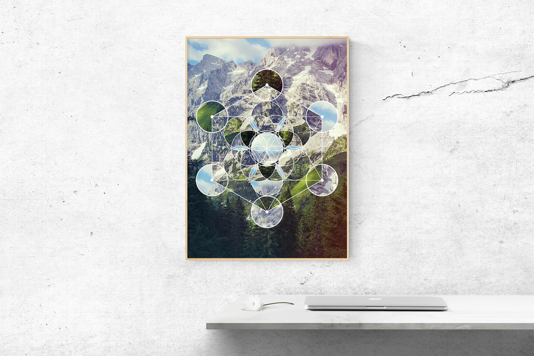 Sacred geometry unity of nature example image 15