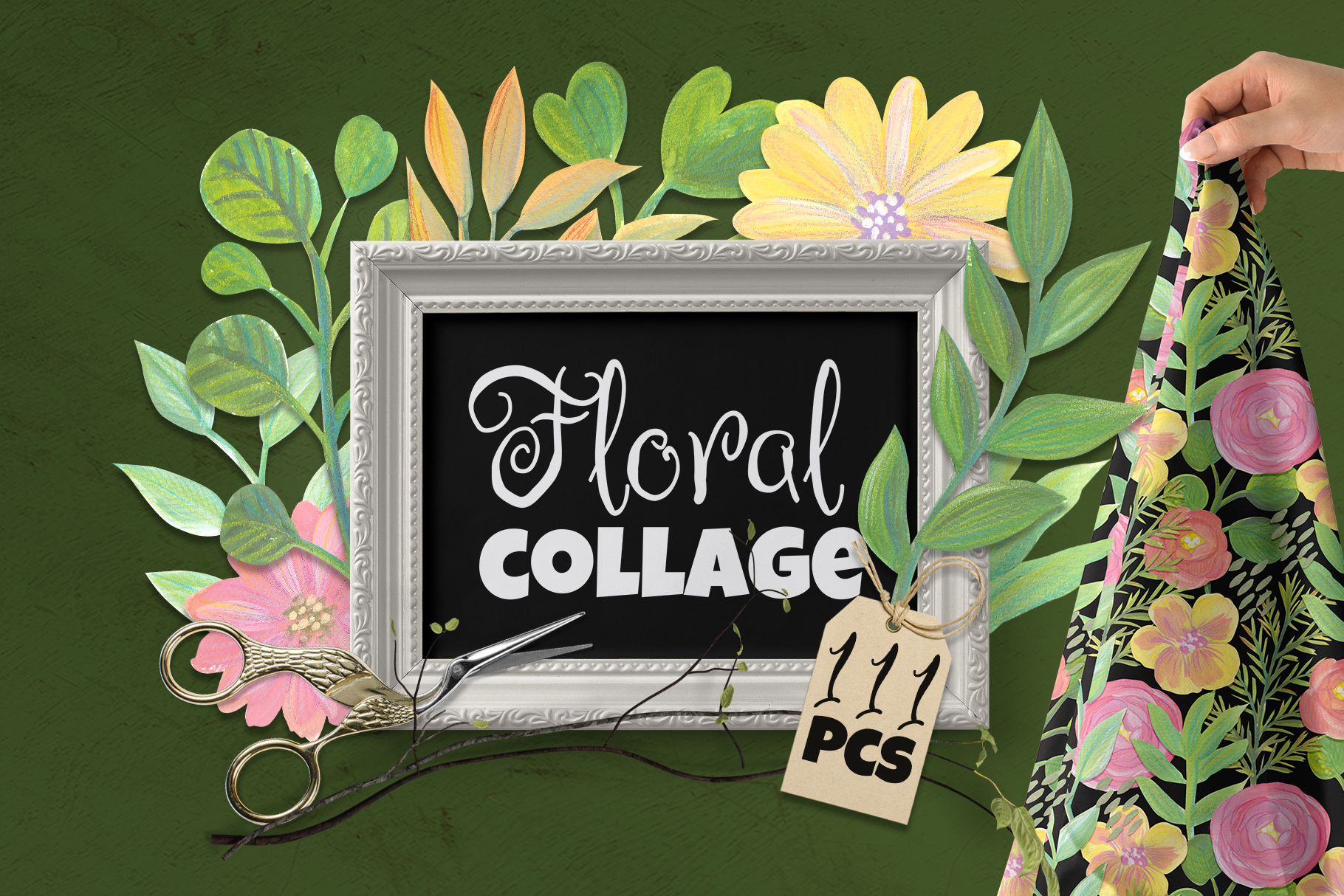 Floral Collage Creator example image 1