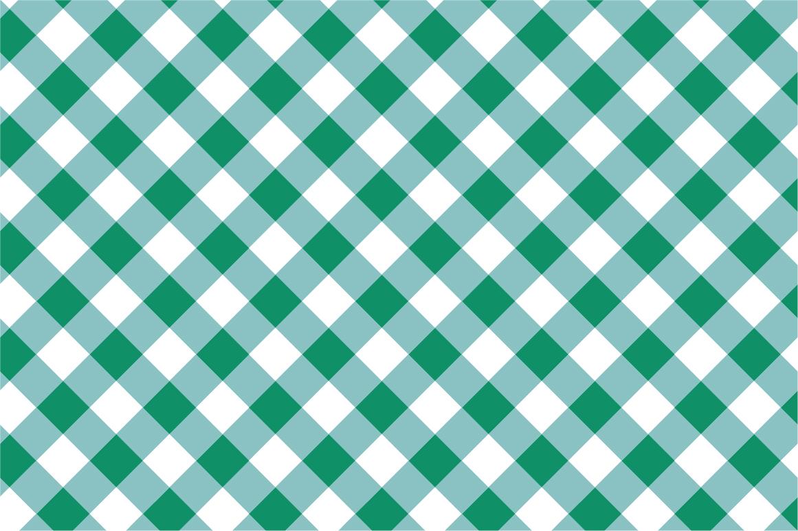 Green Textile Seamless Patterns. example image 4
