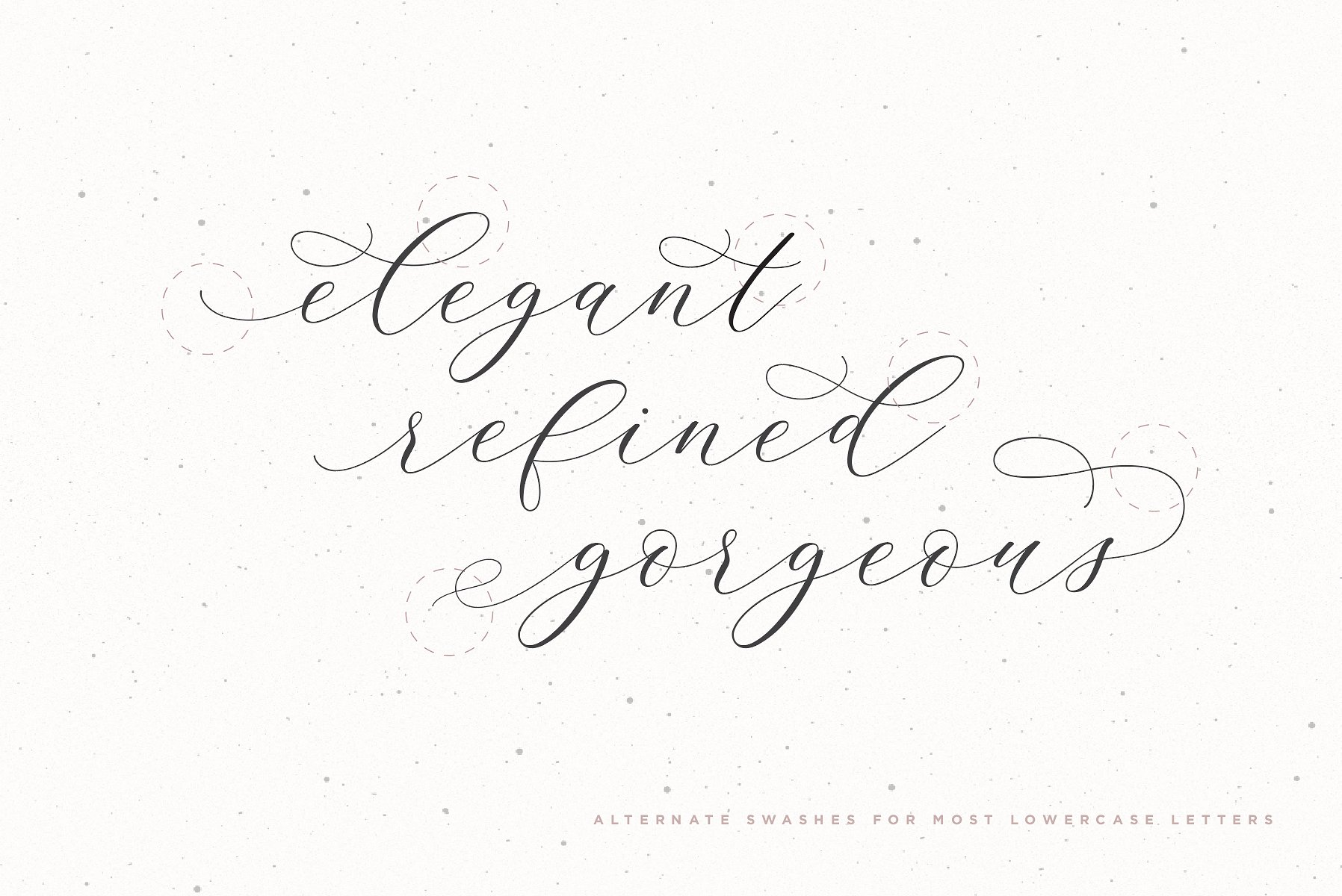 Adore Calligraphy Font example image 7