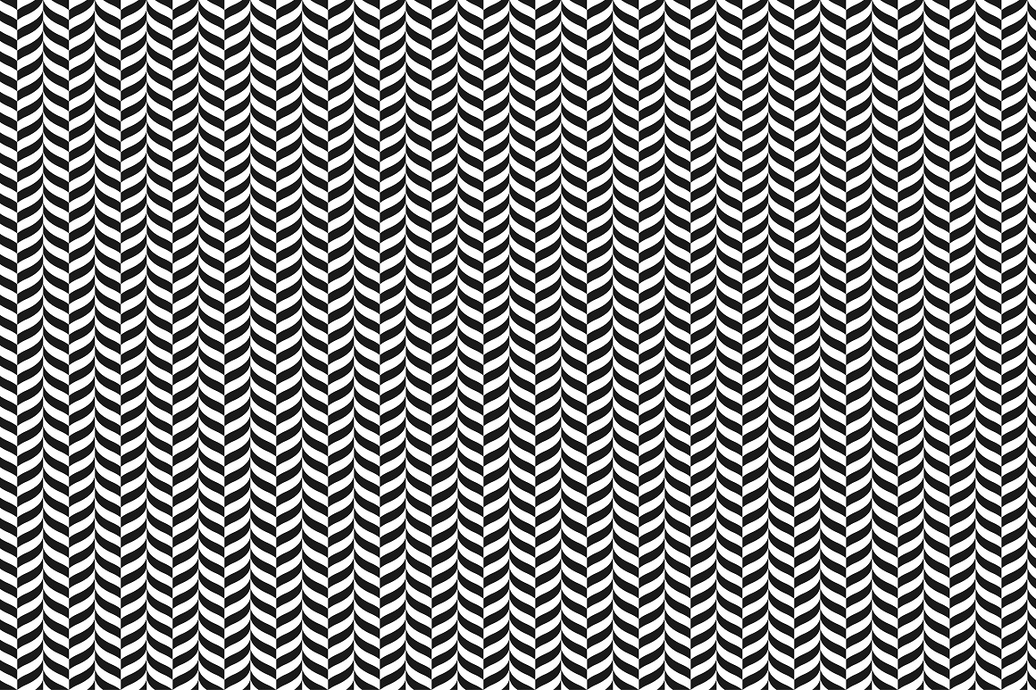 Geometric seamless modern patterns. example image 12