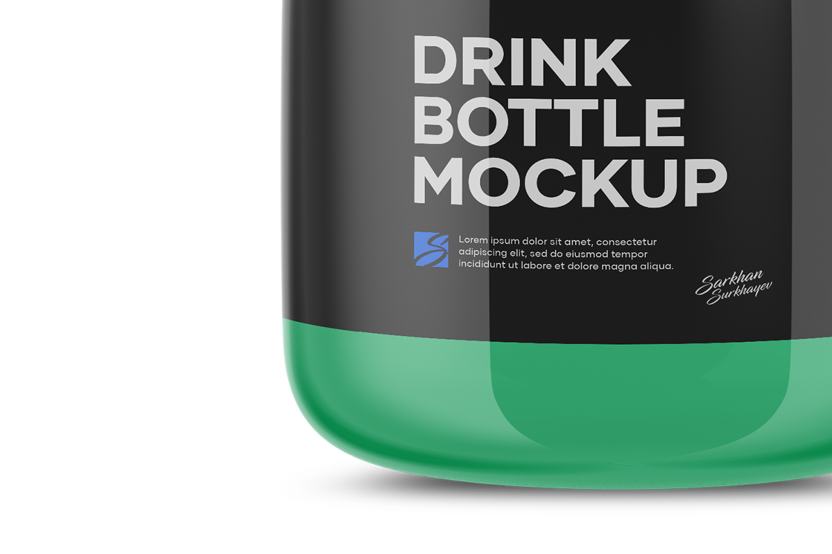 Drink Bottle Mockup example image 5