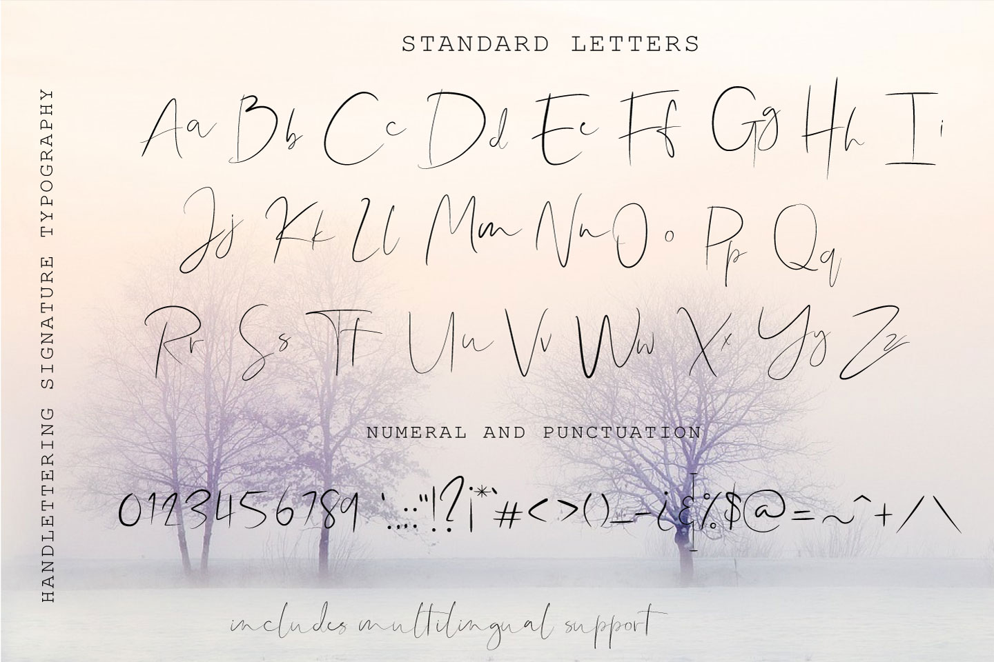 Shallou - Hand Lettering Font, Modern Calligraphy example image 6