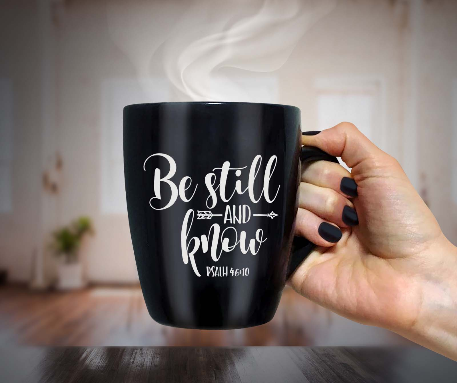 Be still and know Arrow SVG DXF PNG EPS Psalm 46 10 example image 2