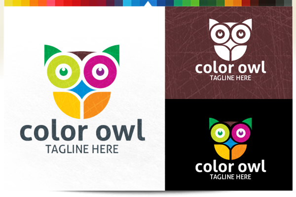Color Owl example image 2