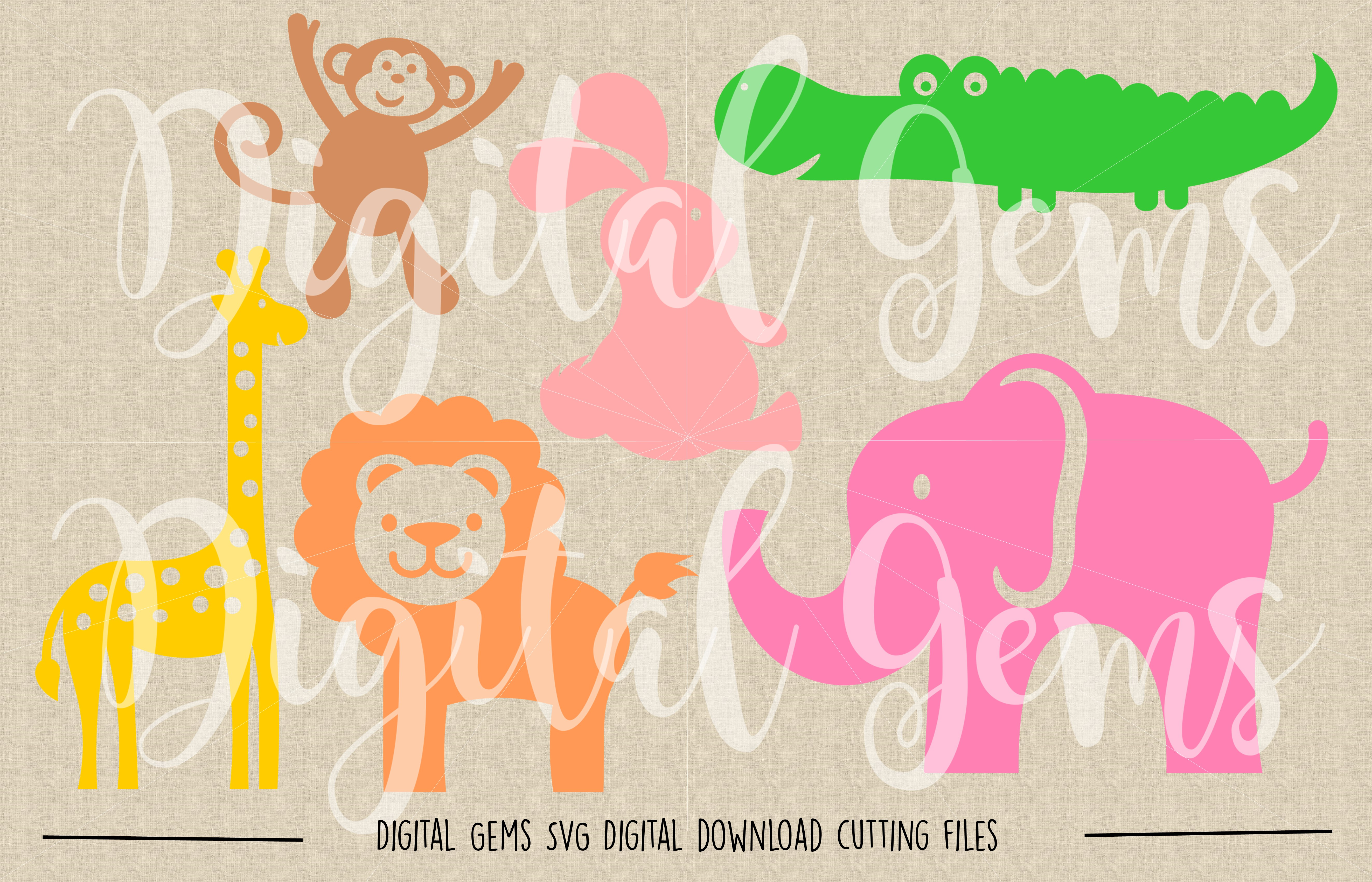 Animal SVG / DXF / EPS / PNG files example image 2