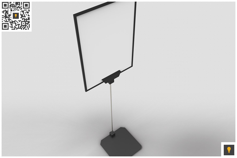 Flyer Display 3D Render example image 11