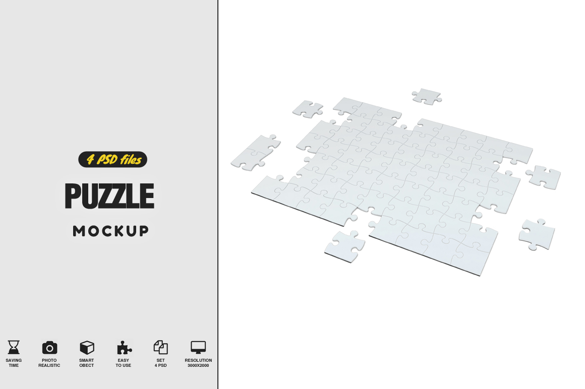 Puzzel Mockup example image 1