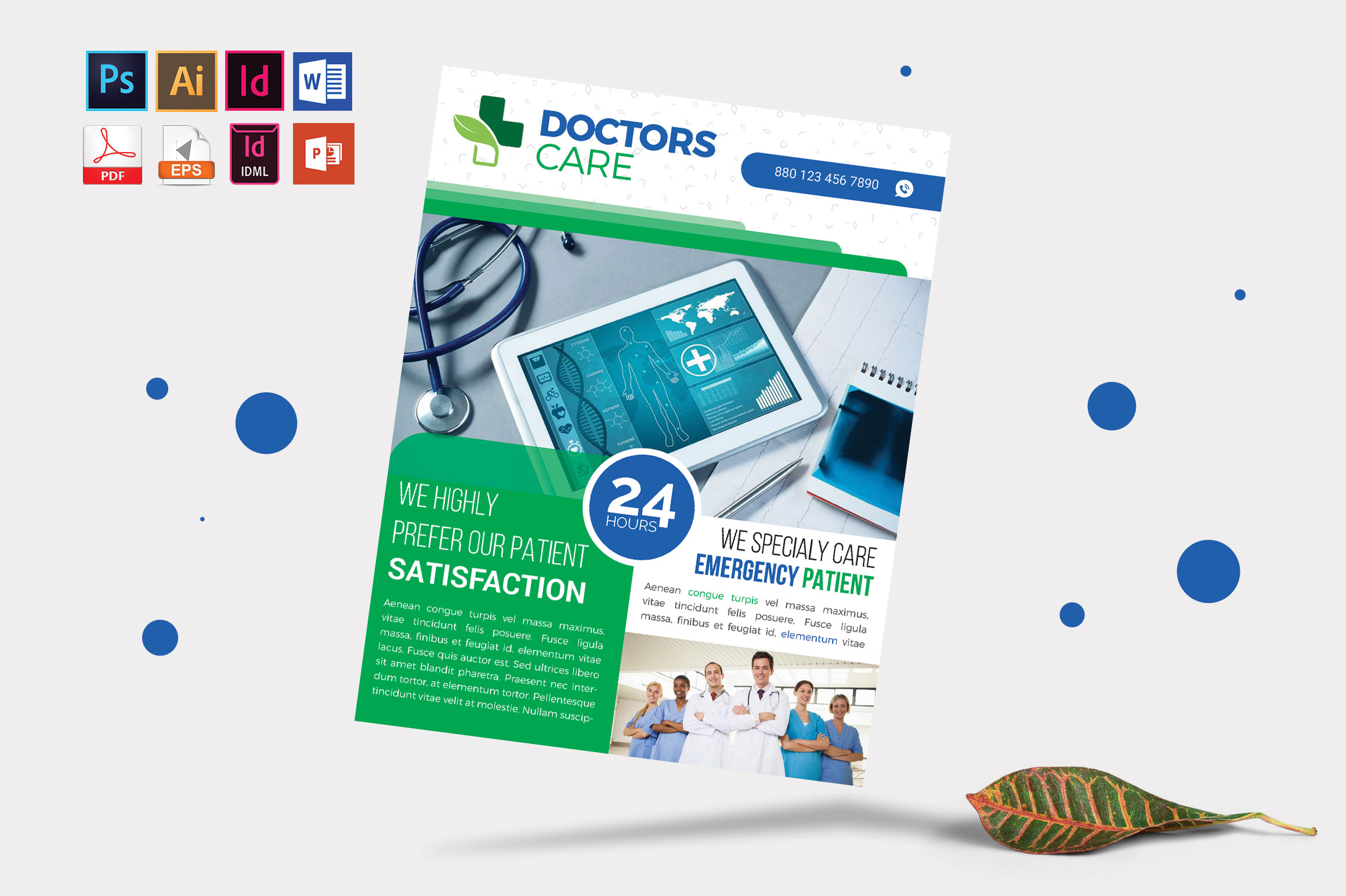 Doctor & Medical Flyer. Vol-04 example image 1