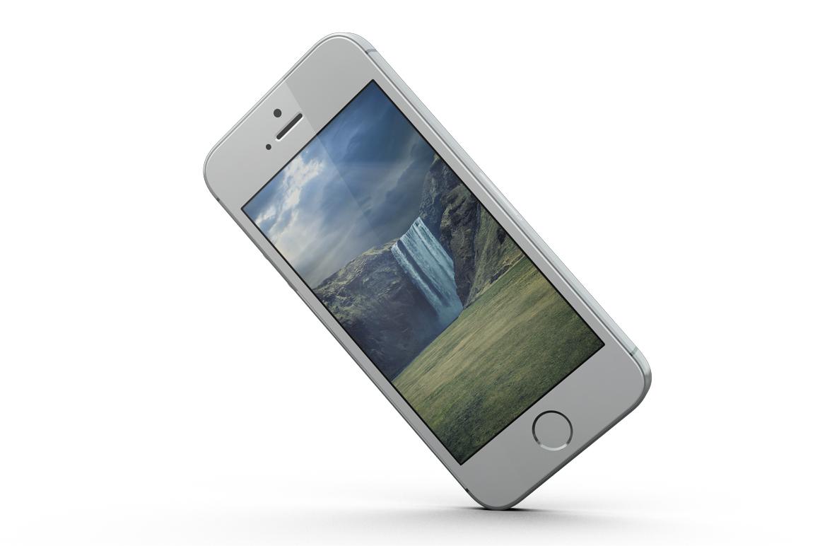iPhone SE Mockup example image 9