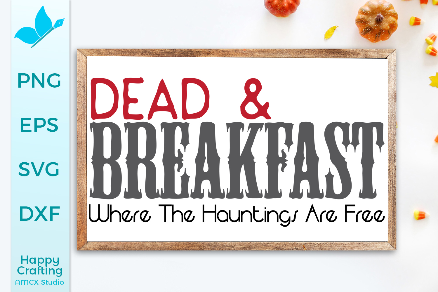 Dead and Breakfast - Halloween SVG example image 1