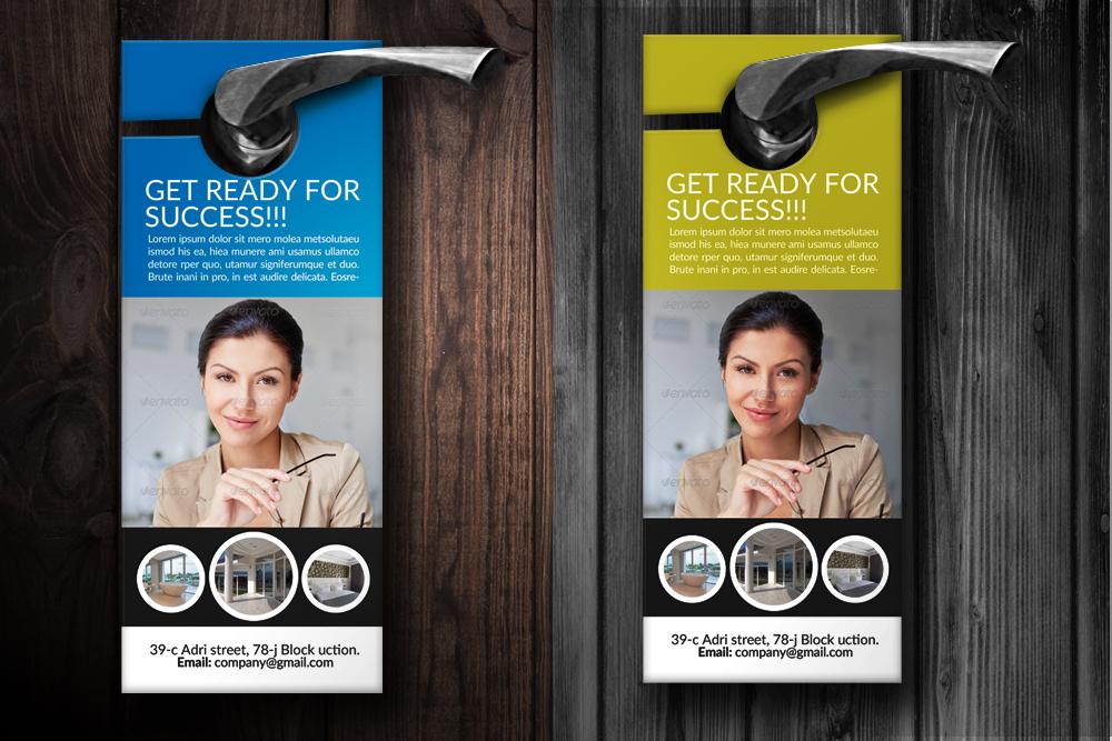 Business Solutions Door Hangers example image 2