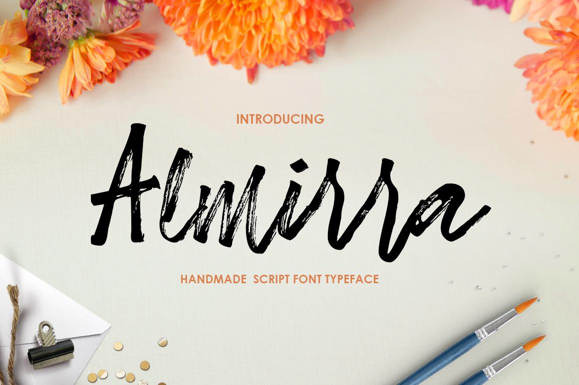 Almirra Script example image 1