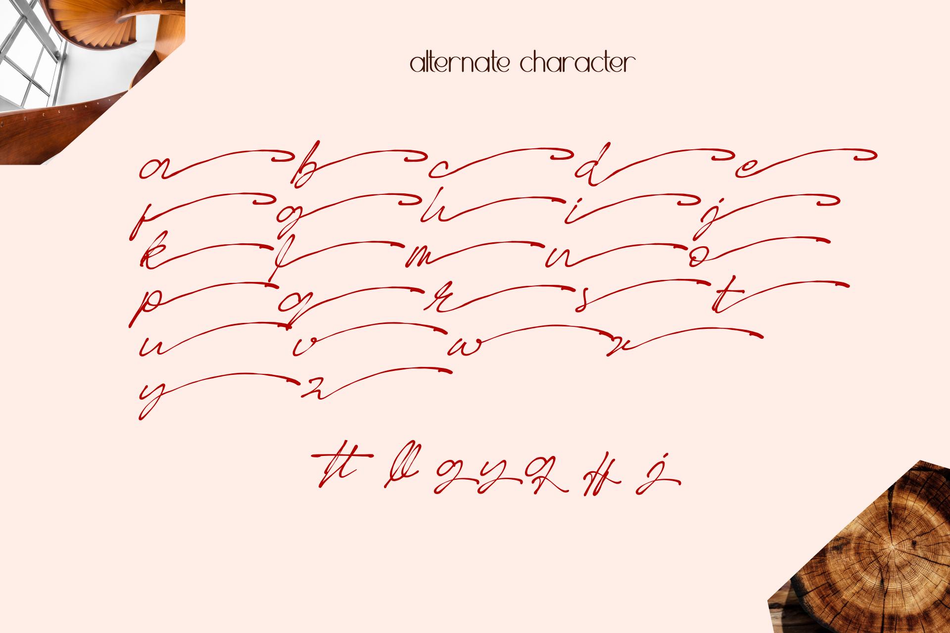 Better Regards Signature Font example image 12