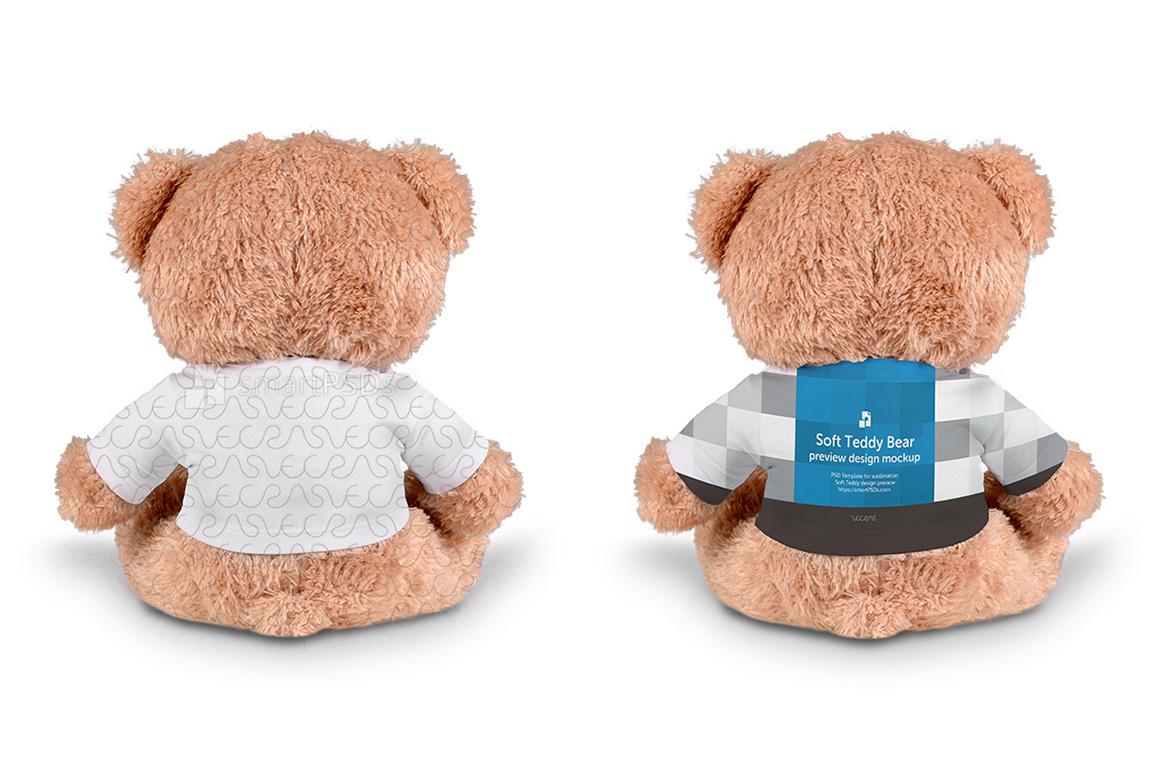 Teddy Bear Dress Design Mockup - 2 Views example image 2