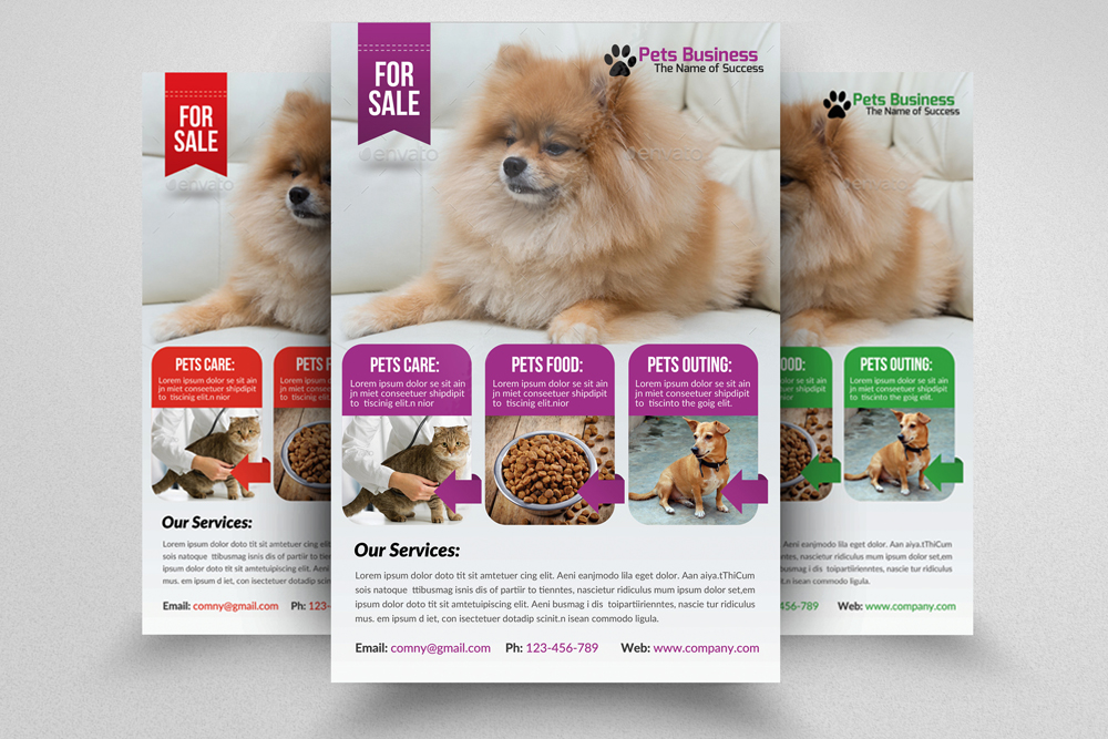 6 Pet Shop Business Flyers Bundle example image 7