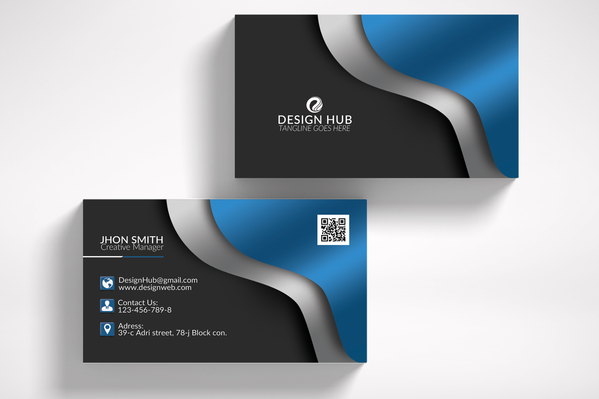 Business Card Template example image 3