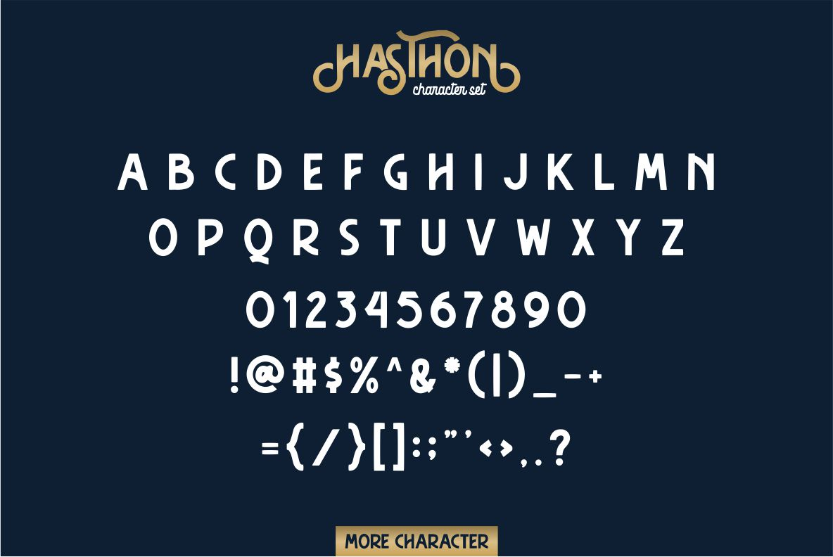 Hasthon - Vintage Fonts example image 6