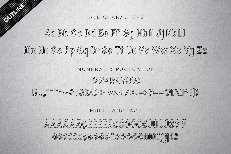 Vanjar - Sans Serif example image 3