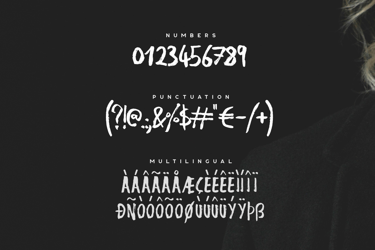Nigma - Brush Font example image 3