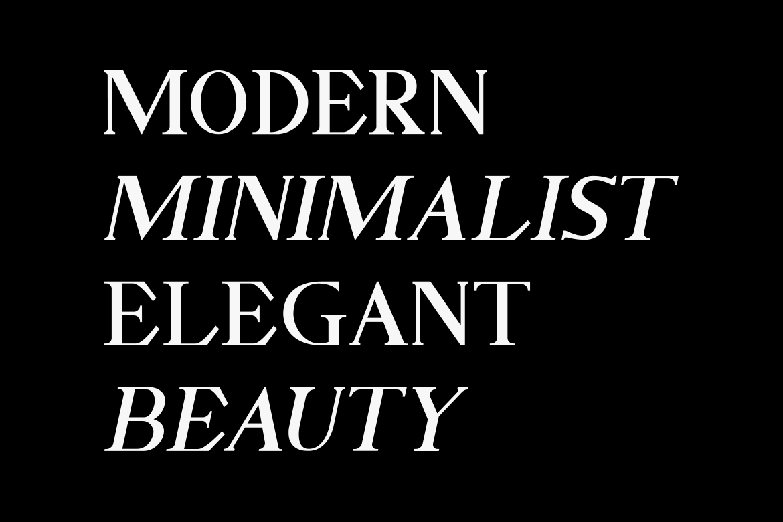 GELLATO // Modern Serif example image 8