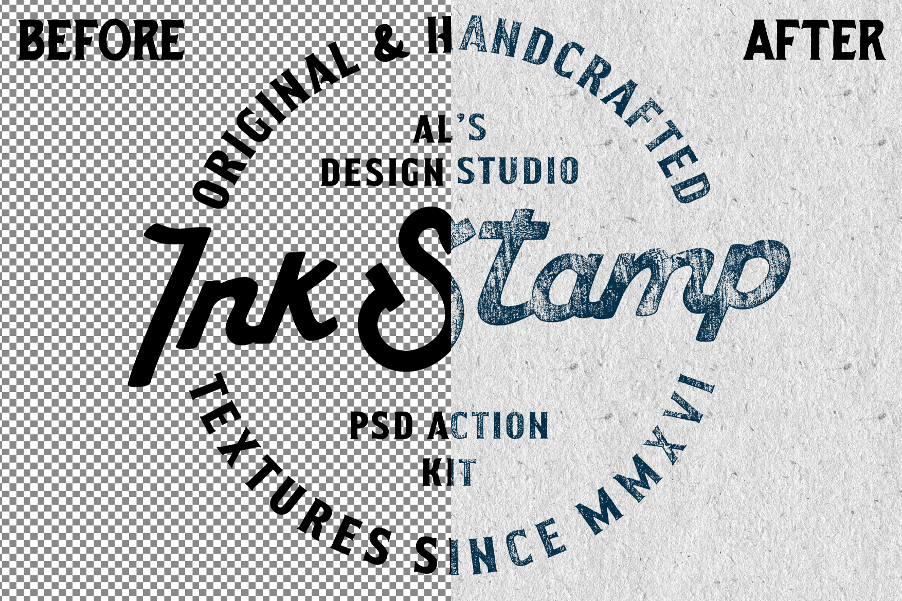 AL's Rugged Ink Stamp Action Kit example image 2