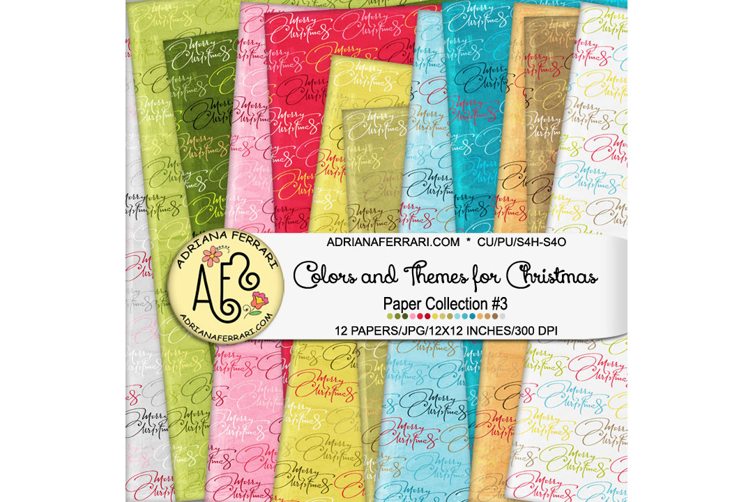 Colors and Themes for Christmas Papers 3 example image 1
